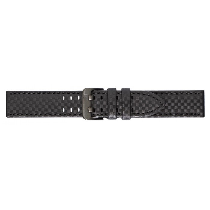 CORREA 20 MM CARBON FIBER WATERPROOF NEGRA