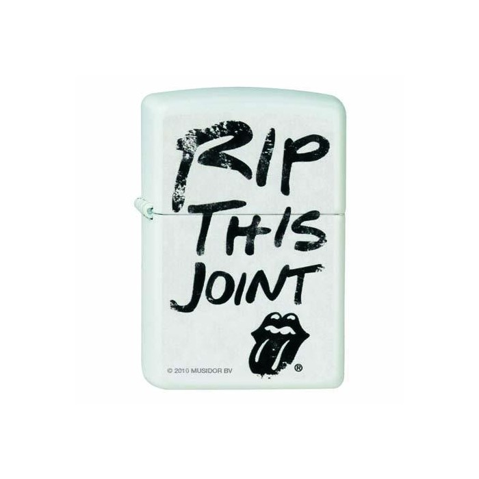 ZIPPO ROLLING STONES 810376 RIP THIS JOINT