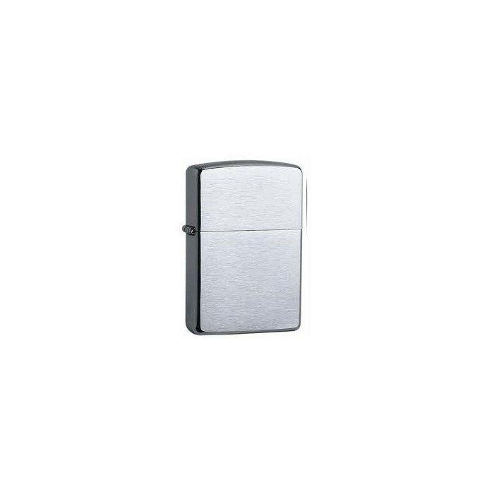 ZIPPO REGULAR BRUSH FIN CHROME