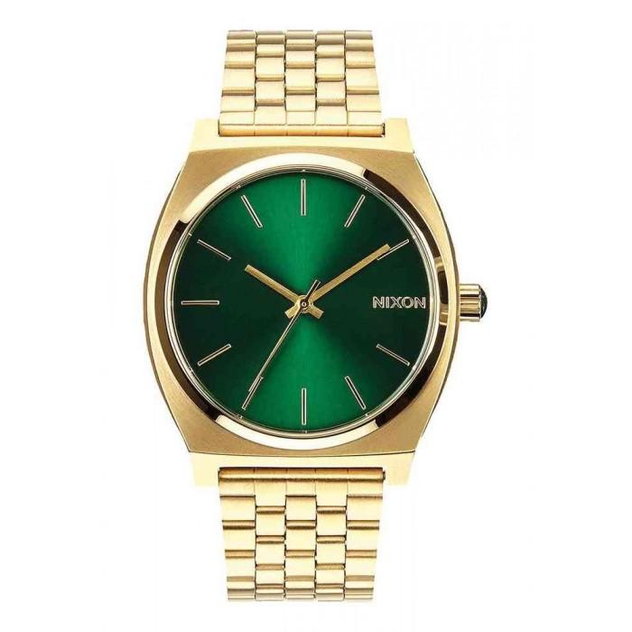 RELOJ NIXON TIME TELLER GOLD GREEN A0451919