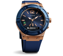 RELOJ INTELIGENTE GUESS CONNECT C0001G1 ROSÉ Y AZUL