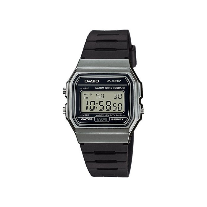 RELOJ CASIO RETRO F-91WM-1BEF