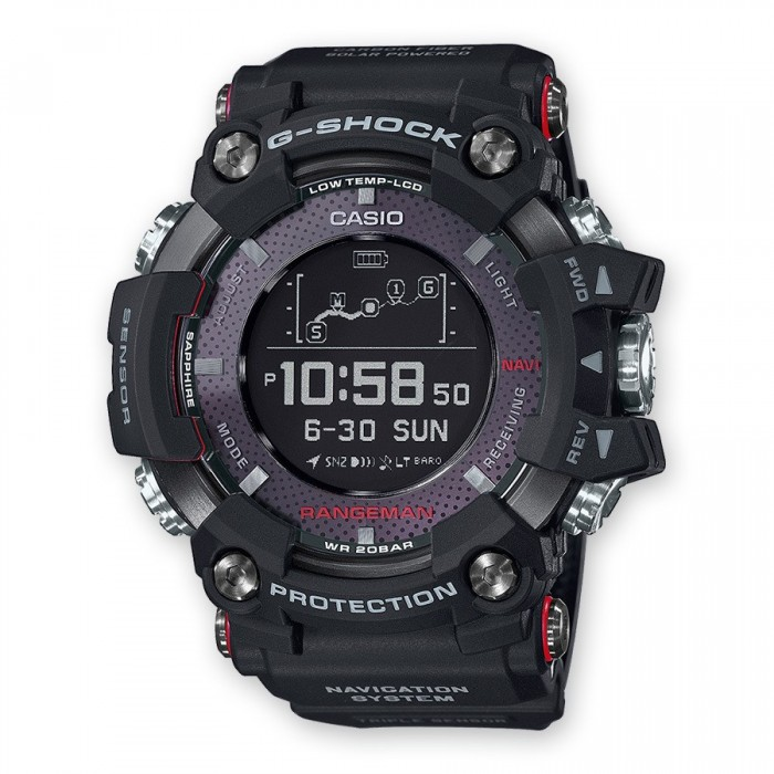 RELOJ CASIO G-SHOCK GPR-B1000-1ER RANGEMAN GPS